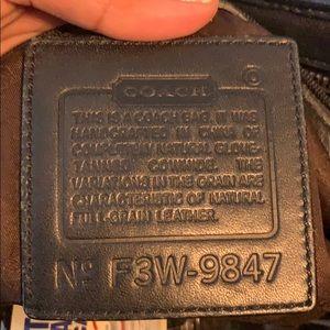 Coach Bags - Coach.  Authentic. Black leather bag.
